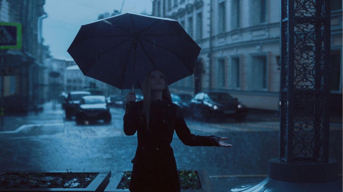 La lluvia de mi corazón es por ti.